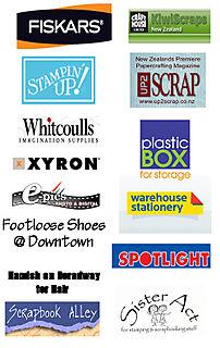 Logo's for sponsors